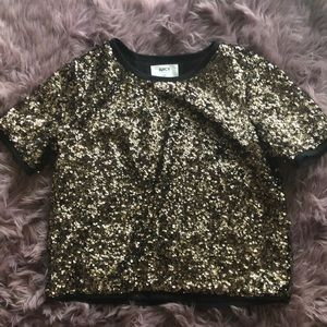 Juicy couture gold sequins set (never worn)